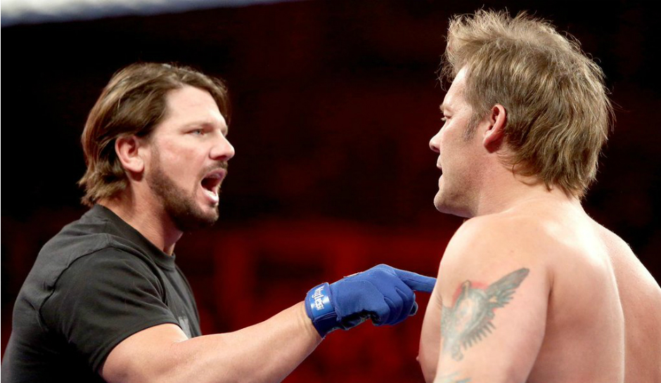 WWE SmackDown AJ Styles vs. Chris Jericho